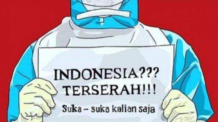 PSBB Diperlonggar, Bandara Padat Penumpang, Tenaga Medis Viralkan  #IndonesiaTerserah