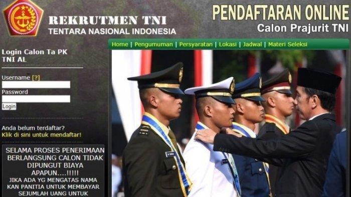 Pendaftaran TNI AD 2021 untuk Lulusan SMA/SMK, Akmil, Tamtama, dan Bintara Cek Persyaratannya