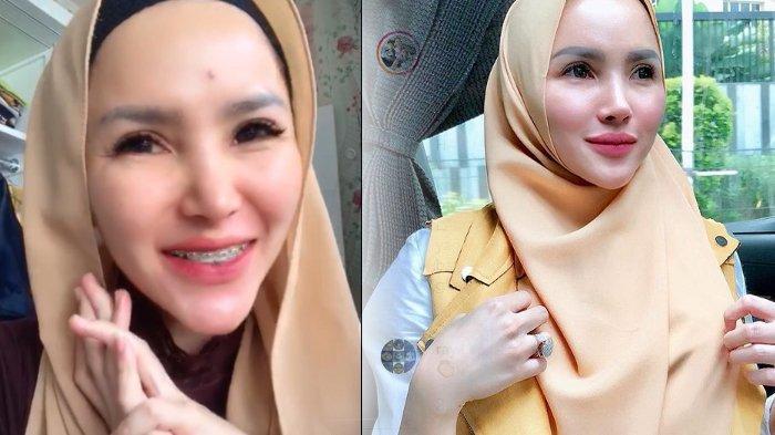 Intan Hardja Agustus 2019 Berhijab Setelah Ngaku Berzina dengan Berondong, November 2019 Lepas Hijab