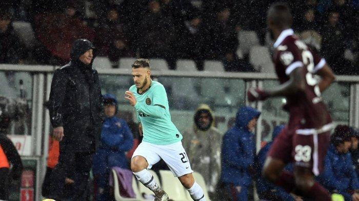 Jarang Dimainkan, Akhirnya Pemain Inter Milan Ini Sukses Jalani Debutnya saat Main Lawan Torino