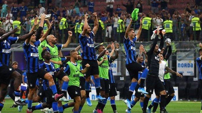 HASIL AKHIR 3-4: 7 Gol Tersaji dalam Laga Sassuolo vs Inter Milan, Martinez & Lukaku Cetak 2 Gol