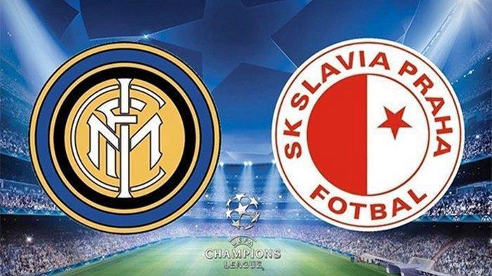 LINK LIVE Streaming Malam Ini Inter Milan vs Slavia Praha Pertandingan Grup F Liga Champions