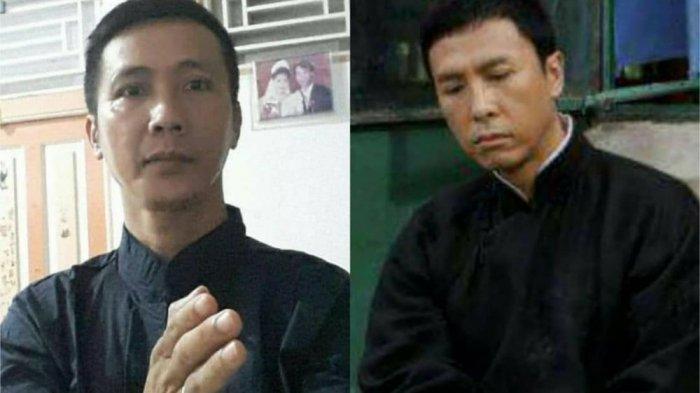 VIRAL IP Man Versi Indonesia, Pria Asal Singkawang Ini Disebut Kembarannya Aktor Donnie Yen