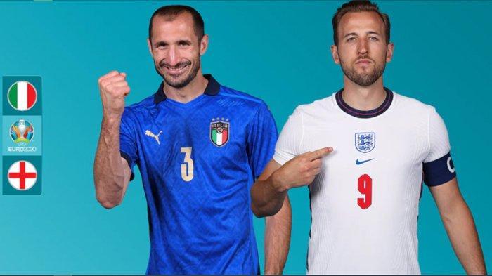 Jadwal Siaran Langsung Final Euro 2020, Inggris Lebih Diuntungkan, Klik Link Live Streaming di Sini