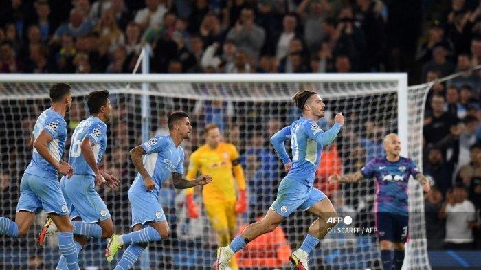 Man City vs Leipzig, Jack Grealish Pesta Gol di Etihad Stadium, Berikut Hasil Lengkap Liga Champions