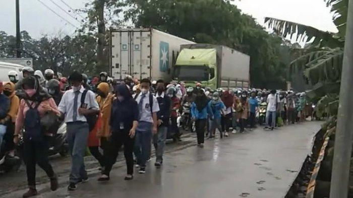 Viral Jalan Baru Dicor Belum Kering di Tangerang Sudah Diinjak Ratusan Warga, Ini Penjelasan PUPR