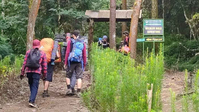 Libur Lebaran, Jalur Pendakian Apuy Majalengka Diminati Pendaki Gunung Ciremai