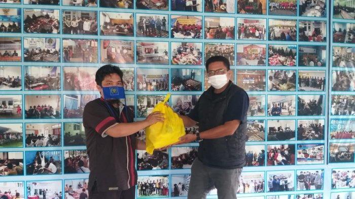 Peduli Wartawan, Kejaksaan Majalengka Salurkan Puluhan Paket Sembako