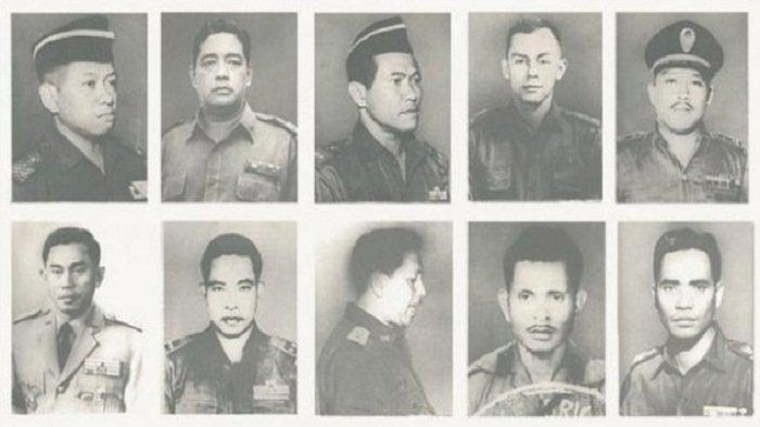 INI 10 Pahlawan Revolusi yang Gugur Dibantai Pemberontak G30S/PKI, Sejarah Kelam Bangsa Indonesia