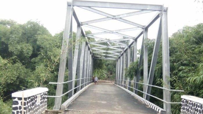 Tepati Janji Politik, Karna Sobahi - Tarsono D Mardiana Realisasikan Jembatan Cijati