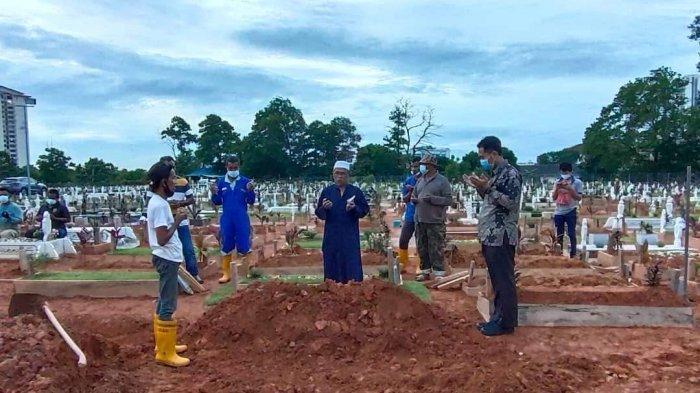 Jenazah TKW Cantik Asal Indramayu Sudah Dimakamkan di Johor Malaysia, KJRI Ungkap Kronologinya