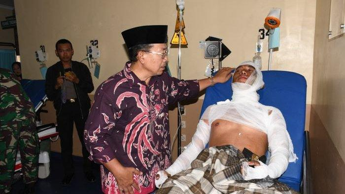 Jenguk Polisi Yang Terbakar di Rumah Sakit, Plt Bupati Cianjur Ungkap Alasan Tak Temui Pendemo