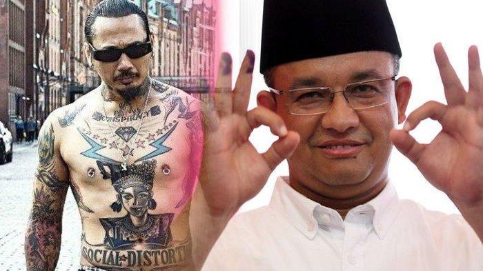 Jerinx SID Bicara Banjir Jakarta, Berani Mengucapkan Kata-kata Seperti Ini, Sindir Anies Baswedan?