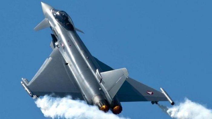 WUJUD Jet Tempur Eurofighter Typhoon Asal Austira, Mau Dibeli Menhan Prabowo,Jago Duel di Udara