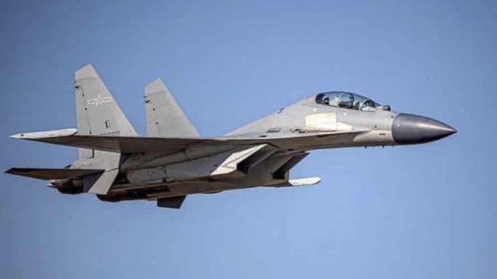 China Unjuk Kekuatan Militer dengan Mengirim Jet Tempur ke Zona Pertahanan Udara Taiwan