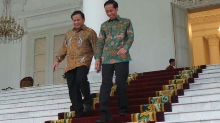Pernah Jadi Lawan, Kini Prabowo Menjadi Menteri Terbaik Kabinet Jokowi-Maruf Versi Indo Barometer