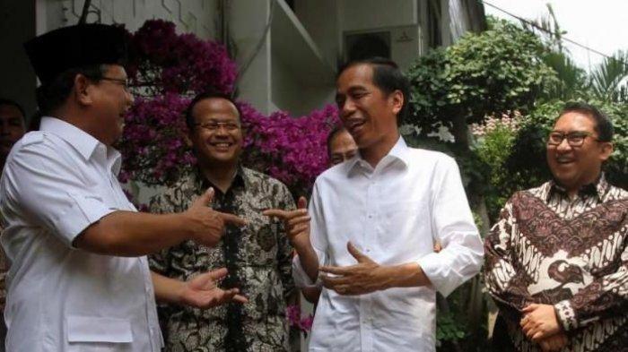 Prabowo Dikritik Sering Jalan-jalan ke Luar Negeri, Presiden Jokowi Pasang Badan Bela Sang Menhan