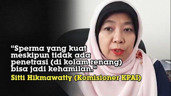 Jokowi Digugat Sitti Hikmawatty Eks KPAI Soal Wanita Bisa Hamil karena Berenang Bareng Laki-laki