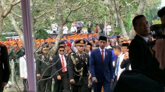 Presiden Jokowi Jadi Inspektur Upacara Pemakaman Ani Yudhoyono