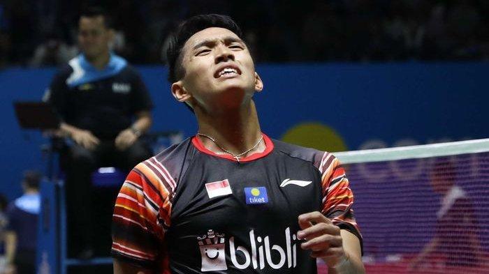 Daftar Wakil Indonesia yang Lolos 16 Besar Toyota Thailand Open 2021, Jonatan Christie Tumbang