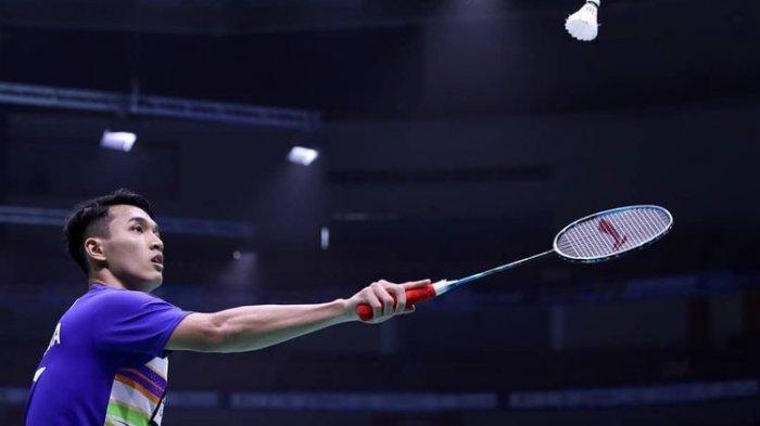 Link Live Streaming Bulutangkis Olimpiade Tokyo, Ada Jonatan Christie vs Loh Kean Yew Sesaat Lagi