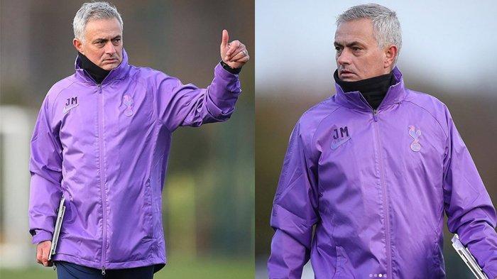 Video dan Latihan Perdana Jose Mourinho Bersama Tottenham Hotspur, Pekan Ini Melawan West Ham United