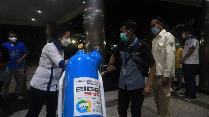 Tanggapi Laporan Warga, Jabar Quick Response Kirim Tabung Oksigen ke Sejumlah Rumah Sakit di Jabar