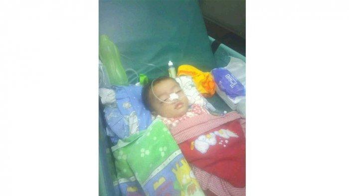 KISAH Pilu Bayi Juwita Tak Sadar & Tak Menangis Selama 8 Bulan Karena Idap Infeksi Selaput Otak