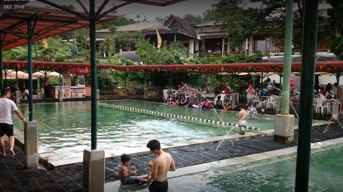 Wah, Kadar Air di Pemandian Air Panas Sari Ater Disebut Bisa Bunuh Virus, Aman bagi Pengunjung