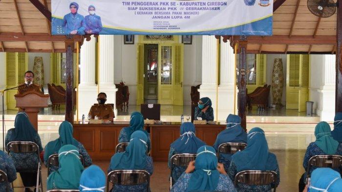 Gebrak Masker, Sebanyak 2,5 Juta Masker Bakal Dibagikan Pemkot Cirebon Kepada Masyarakat