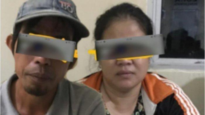 Diduga Selingkuh Dua Kades di Lahat Ini Digrebek Oleh Warga Lalu Digelandang ke Polsek Setempat
