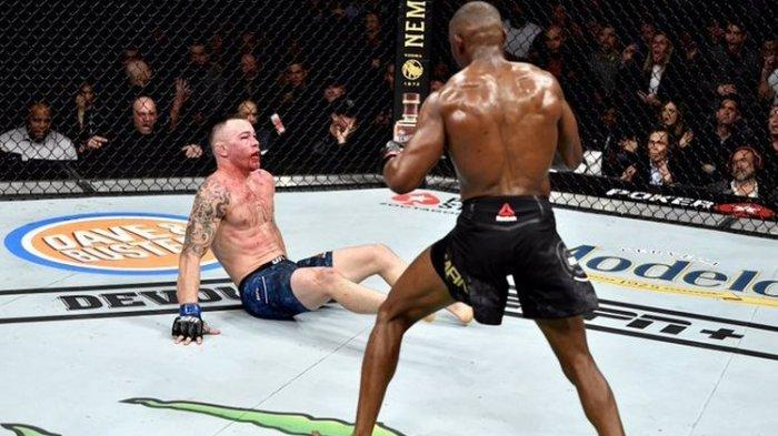 Petarung UFC Ini Suka Merendahkan Lawan dan Rasis, Rahangnya Dihajar Sampai Patah oleh Kamaru Usman