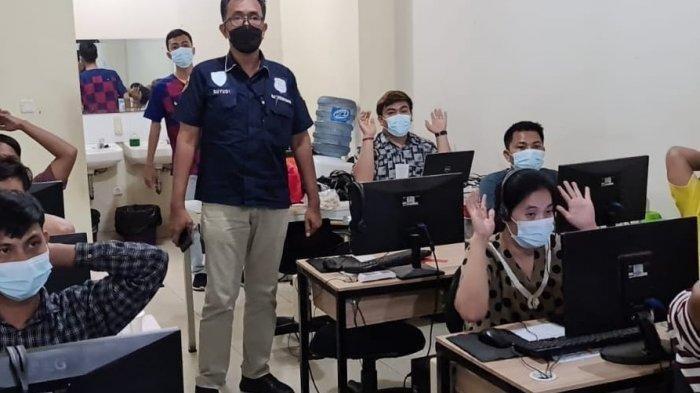 Kantor Pinjaman Online Ilegal Digerebek Polisi, 32 Orang Diamankan: Jangan Tergiur Tawaran Pinjol