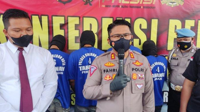 Tujuh Pelaku Tawuran Antargeng di Kota Cirebon Ditangkap, Dua Korban Alami Luka Bacokan