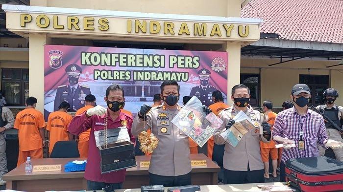 Polisi Terus Dalami Peredaran Uang Palsu di Indramayu, Juga Diedarkan di Luar Kota hingga Cimahi