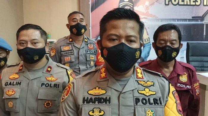 Kapolres Indramayu AKBP Hafidh Susilo Herlambang, Kamis (31/12/2020).