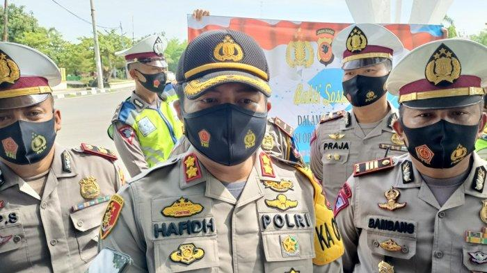 Puncak Arus Balik, Polres Indramayu Lakukan Antisipasi Kepadatan Lalin di Tol Cipali & Jalur Pantura