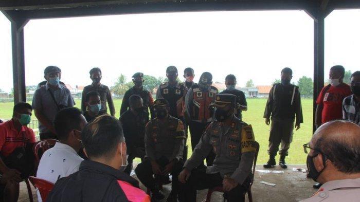 Kapolres Kuningan Bubarkan Turnamen Sepak Bola, Videonya Tengah Marahi Panitia Beredar