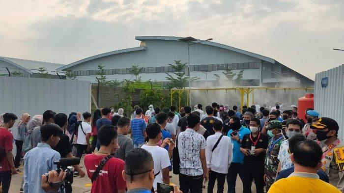 Satu Pabrik di Majalengka Ditutup Sementara Diduga Ada Belasan Pekerja Terpapar Covid-19