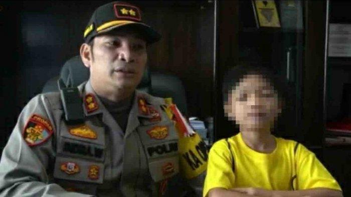 Lika-liku  Bocah 10 Tahun yang Disiksa Ayah Kandung, Ditinggal di SPBU Akhirnya Diasuh Kapolres