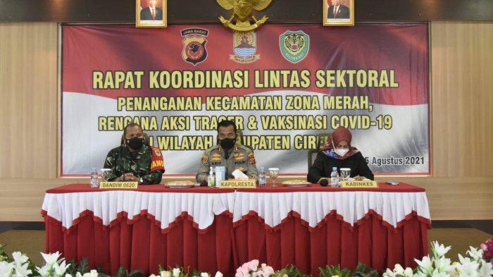 6 Kecamatan di Kabupaten Cirebon Zona Merah Covid-19, Kapolresta Minta Forkopimcam Lakukan Hal Ini