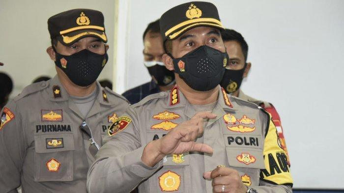 Kapolresta Cirebon Ajak Warga Bantu Tetangganya yang Jalani Isolasi Mandiri Karena Terpapar Covid-19