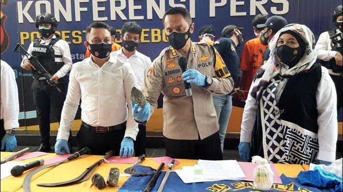 Dua Gengster di Cirebon Bentrok, 10 Tersangka dari Geng All Star dan Geng Jepang Diringkus Polisi