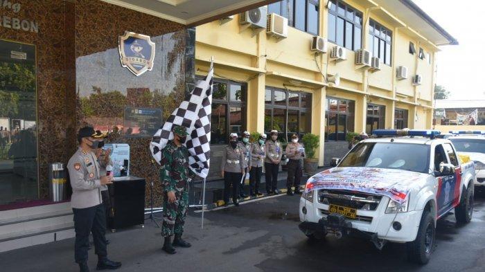 Memperingati Hari Bhayangkara ke-74, Polresta Cirebon Bagikan 2020 Paket Sembako