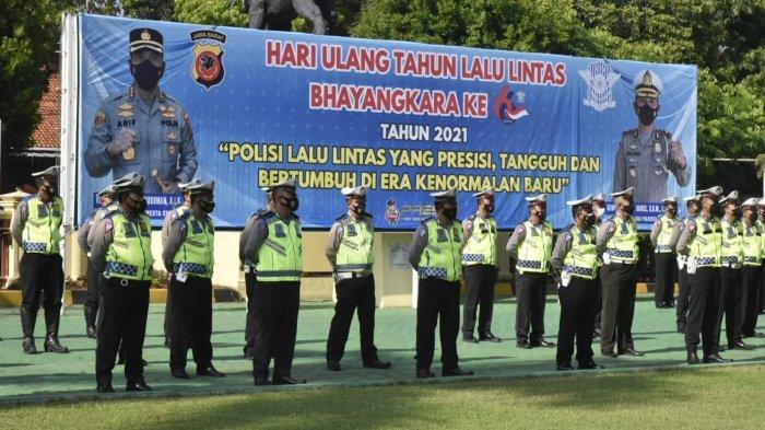 Kapolresta Cirebon Minta Momen HUT ke-66 Polantas jadi Refleksi Meningkatkan Pengabdian Masyarakat