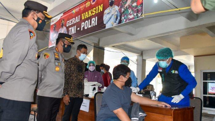 Kapolresta Cirebon dan Rektor Titip Pesan Ini kepada Mahasiswa UMC yang Telah Divaksin Covid-19