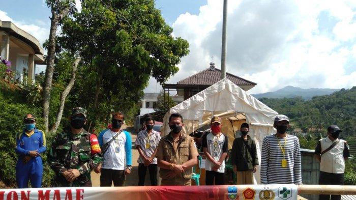 Kasus Positif Covid-19 Terus Bertambah, Karantina Wilayah di Desa Samida Akan Diperpanjang