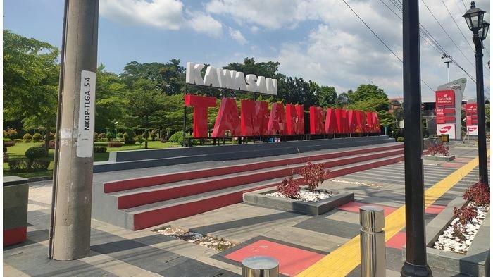 Taman Raharja Jadi Tempat Favorit Ngabuburit Warga Majalengka, Strategis dan Fasilitas Lengkap
