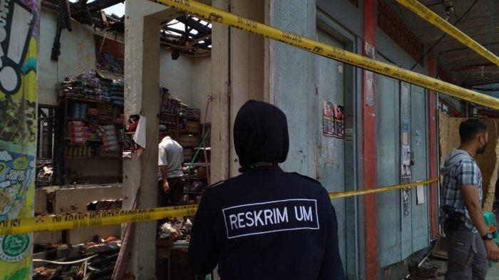 Kakak Beradik Jadi Korban Kebakaran 4 Toko di Kawasan Alun-alun Ciamis, Istri Korban Selamat