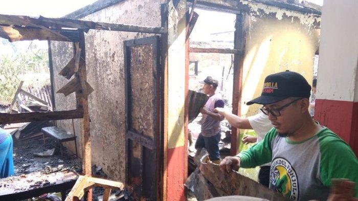 VIDEO Bangunan SDN Pasir Sarongge Hangus Terbakar, Untung Murid-murid Pulang Lebih Dulu